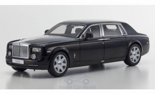 Rolls Royce Phantom 1/18 Kyosho EWB nero 2003 modellino in miniatura