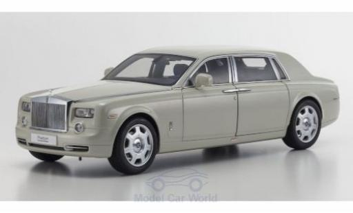 Rolls Royce Phantom 1/18 Kyosho EWB bianco 2003 modellino in miniatura