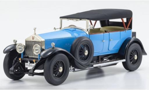 Rolls Royce Phantom 1/18 Kyosho I blue RHD Verdeck détachable Persenning couché avec diecast model cars
