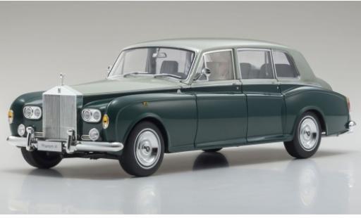 Rolls Royce Phantom 1/18 Kyosho VI verde/grigio RHD modellino in miniatura