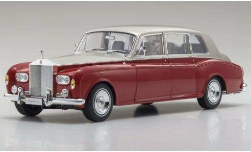 Rolls Royce Phantom 1/18 Kyosho VI rosso/beige RHD modellino in miniatura