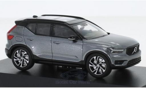 Volvo XC 1/43 Kyosho 40 metallise grise miniature