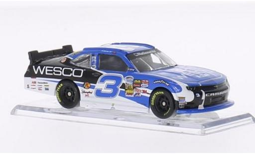 Chevrolet Camaro 1/64 Lionel Racing No.3 Richard Childress Racing Wesco Nascar 2014 T.Dillon modellino in miniatura