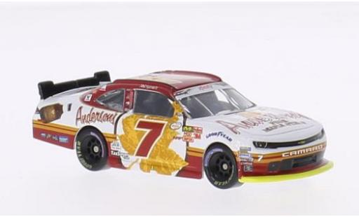 Chevrolet Camaro 1/64 Lionel Racing No.7 JR Motorsports Andersons Maple Syrup Nascar 2015 R.Smith miniature