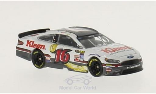 Ford Fusion 1/64 Lionel Racing No.16 Roush Fenway Racing Kleen Performance Products Nascar 2016 G.Biffle miniature
