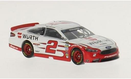 Ford Fusion 1/64 Lionel Racing No.2 Team Penske Würth Nascar 2016 B.Keselowski miniature