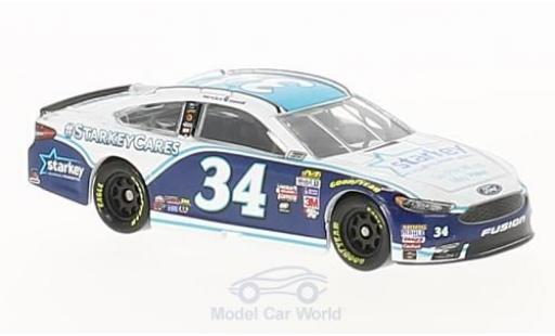 Ford Fusion 1/64 Lionel Racing No.34 Front Row Motorsports Starkey Hearing Foudation Nascar 2017 L.Cassill diecast model cars