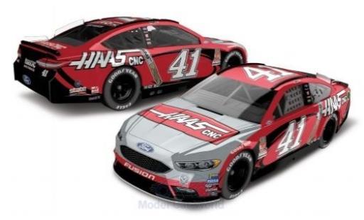 Ford Fusion 1/64 Lionel Racing No.41 Stewart-Haas Racing Haas CNC Nascar 2018 K.Busch miniature