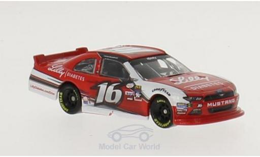 Ford Mustang 1/64 Lionel Racing No.16 Roush Fenway Racing Lilly Diabetes Nascar Xfinity Series 2016 R.Reed miniature