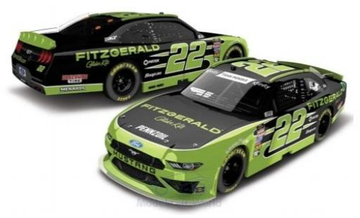 Ford Mustang 1/64 Lionel Racing No.22 Team Penske Fitzgerald Nascar 2018 miniature