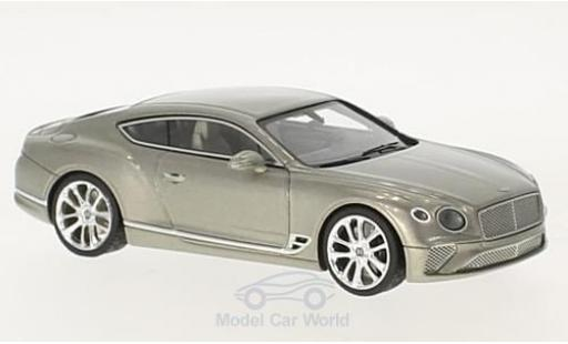 Bentley Continental 1/43 Look Smart GT grise 2018 miniature