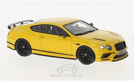 Bentley Continental 1/43 Look Smart Supersports yellow diecast model cars