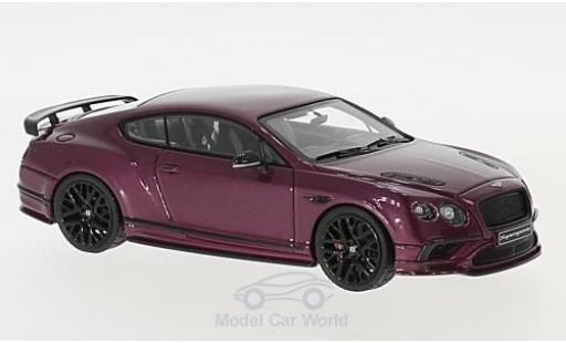 Bentley Continental 1/43 Look Smart Supersports metallise violette miniature