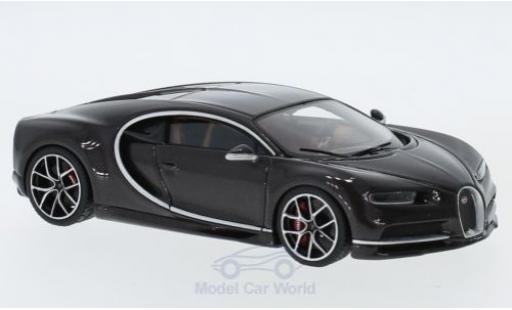 Bugatti Chiron 1/43 Look Smart brown/carbon diecast model cars