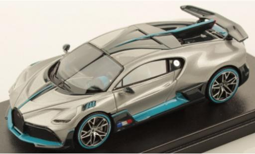 Bugatti Divo 1/43 Look Smart metallise grey/Dekor 2018
