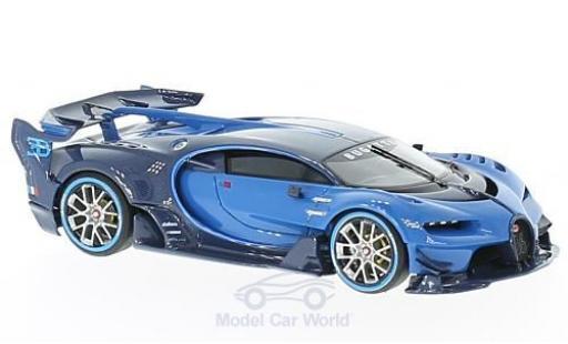Bugatti Vision 1/43 Look Smart Gran Turismo bleue/bleue 2015 IAA Frankfurt miniature