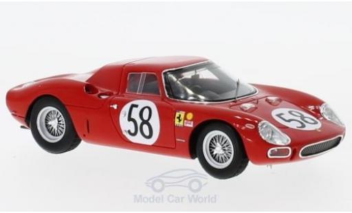 Ferrari 250 1/43 Look Smart LM RHD No.58 24h Le Mans 1964 J.Rindt/D.Piper modellautos