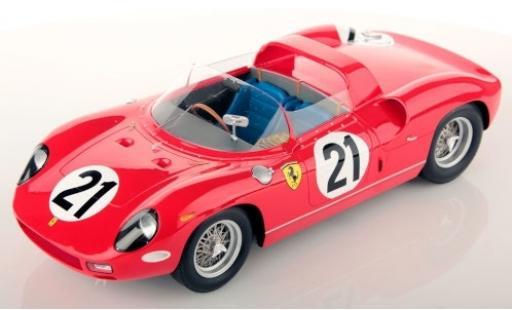 Ferrari 250 1/18 Look Smart P RHD No.21 Scuderia 24h Le Mans 1963 L.Scarfiotti/L.Bandini coche miniatura