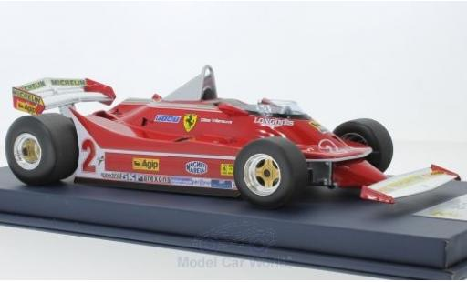 Ferrari 312 1/18 Look Smart T5 No.2 Formel 1 GP Kanada 1980 G.Villeneuve miniature