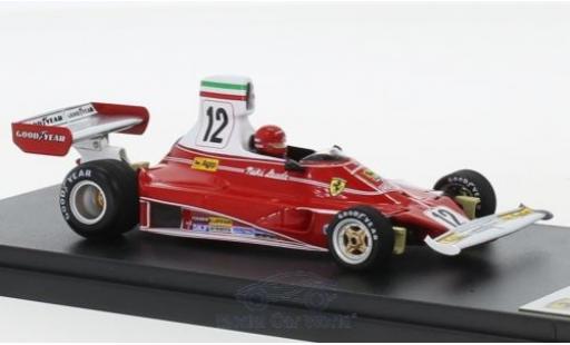 Ferrari 312 1/43 Look Smart T No.12 Scuderia Formel 1 GP Italien 1975 N.Lauda miniature