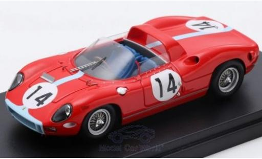 Ferrari 330 1/43 Look Smart P RHD No.14 Scuderia 24h Le Mans 1964 G.Hill/J.Bonnier miniature