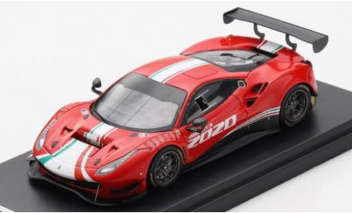 Ferrari 488 1/43 Look Smart GT3 EVO 2020 véhicule de présentation diecast model cars