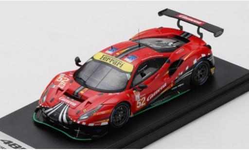 Ferrari 488 1/43 Look Smart GTE EVO No.52 AF Corse 24h Le Mans 2020 S.Görig/C.Ulrich/A.West miniature