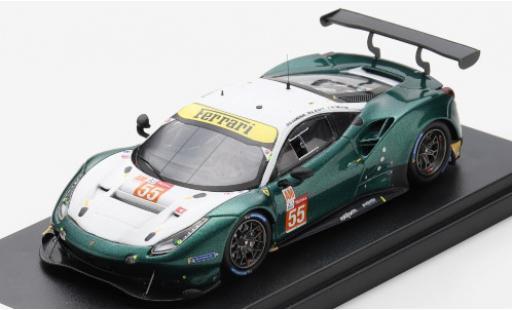 Ferrari 488 1/43 Look Smart GTE EVO No.55 Spirit of Race 24h Le Mans 2020 D.Cameron/M.Griffin/A.Scott diecast model cars