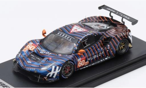 Ferrari 488 1/43 Look Smart GTE No.60 Kessel Racing 24h Le Mans 2019 S.Pianezzola/A.Piccini/C.Schiavoni diecast model cars