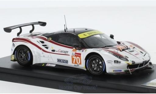 Ferrari 488 1/43 Look Smart GTE No.70 MR Racing 24h Le Mans 2018 M. Ishikawa/O.Beretta/E.Cheever diecast