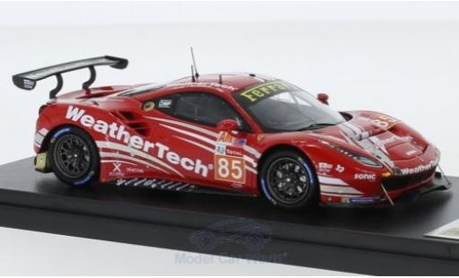 Ferrari 488 1/43 Look Smart GTE No.85 Keating Motorsports 24h Le Mans 2018 B.Keating/J.Bleekemolen/L.Stolz miniature