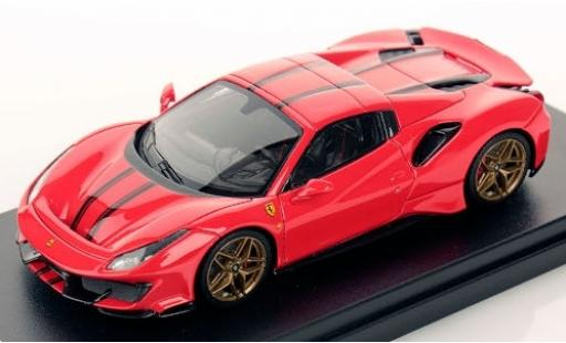 Ferrari 488 1/43 Look Smart Pista Spider Hardtop red/black 2018 diecast model cars