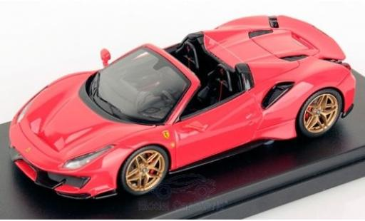 Ferrari 488 1/43 Look Smart Pista Spider red diecast model cars
