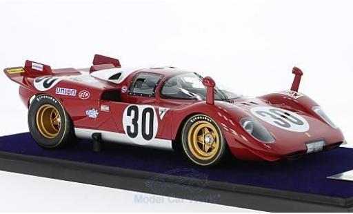 Ferrari 512 1/18 Look Smart S No.30 Scuderia Piccho Rosso 24h Daytona 1970 C.Manfredini/G.Moretti miniature