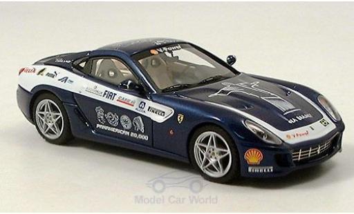 Ferrari 599 GTB 1/43 Look Smart blue Fiorano Panamericana diecast model cars