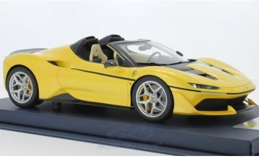 Ferrari J50 1/18 Look Smart métallisé jaune miniature