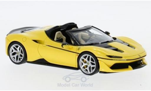 Ferrari J50 1/43 Look Smart métallisé jaune 2016 miniature