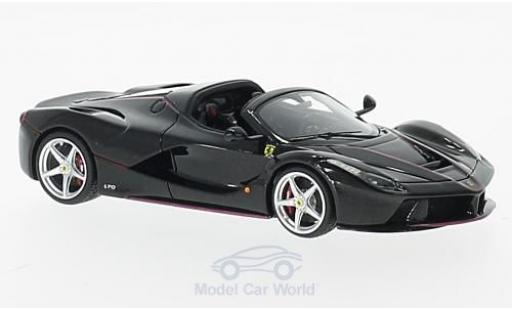 Ferrari LaFerrari 1/43 Look Smart La Aperta nero Paris Motorshow 2016 modellino in miniatura