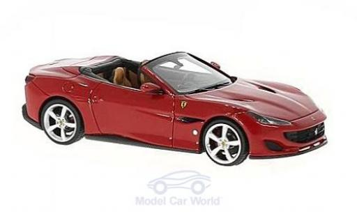 Ferrari Portofino 1/43 Look Smart rouge miniature