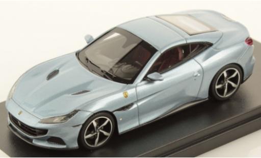 Ferrari Portofino 1/43 Look Smart M metallise gris coche miniatura