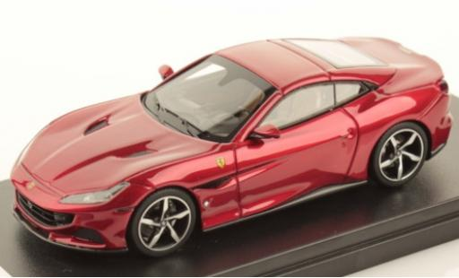 Ferrari Portofino 1/43 Look Smart M metallise red diecast model cars
