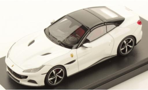 Ferrari Portofino 1/43 Look Smart M blanco/negro coche miniatura