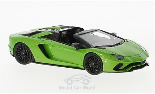 Lamborghini Aventador Roadster 1/43 Look Smart S metallise verte miniature