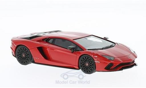 Lamborghini Aventador 1/43 Look Smart S red diecast model cars