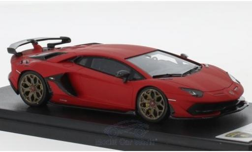 Lamborghini Aventador J 1/43 Look Smart SV matt-red 2018 diecast model cars
