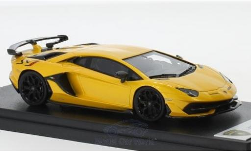 Lamborghini Aventador J 1/43 Look Smart SV metallise yellow 2018 diecast model cars