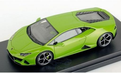 Lamborghini Huracan 1/43 Look Smart Evo metallise green 2019 diecast model cars