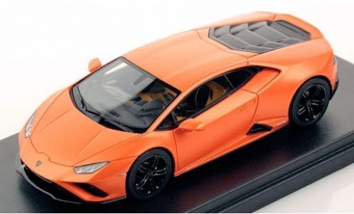 Lamborghini Huracan 1/43 Look Smart Evo RWD matt-orange miniature