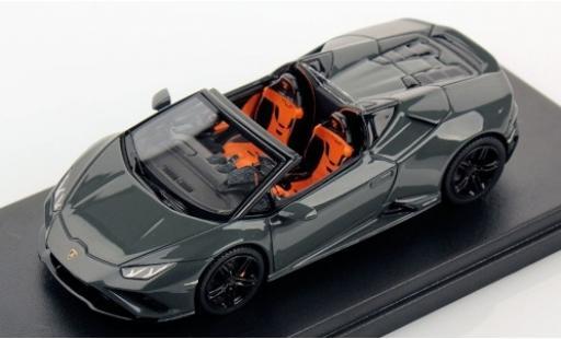 Lamborghini Huracan 1/43 Look Smart Evo RWD Spyder grey 2019 diecast model cars