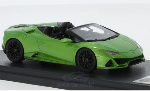 Lamborghini Huracan 1/43 Look Smart Evo Spyder green diecast model cars